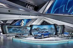 "Audi IAA Frankfurt Motor Show 2015 - ""the power of four"""