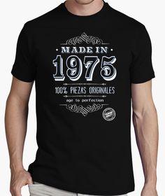 Camiseta Made in 1975