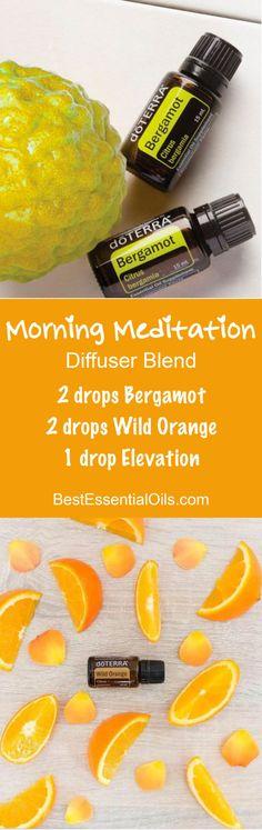Morning Meditation doTERRA Diffuser Blend