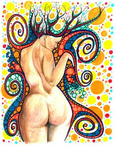 """""""Cosmic Shower"""" Watercolour and Ink on paper. Ink on paper.  website: www.bentleyartist.com - email: human8128@hotmail.com Euclidean Geometry, Theoretical Physics, Watercolor And Ink, Cosmic, Fine Art, Shower, Website, Paper, Artist"""