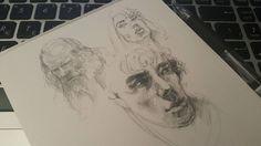 #drawing #illustration #portrait #sketch #pencil #sketchbook #art #artwork #painting #eskiz #портрет #рисунок #карандаш #набросок #эскиз