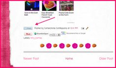 """How to add a """"print friendly"""" button to a blog post"""