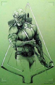 Green Arrow by Eric Meador
