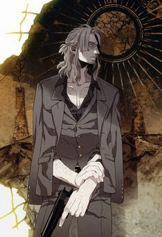 Gangsta Anime Worick Arcangelo Art by corphish2 on DeviantArt