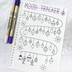 20 Genius Mood Tracker Ideas For Your Bullet Journal Bullet Journal - DIY Papier Bullet Journal Tracker, Bullet Journal Themes, Bullet Journal Spread, Bullet Journal Layout, Bullet Journal Inspiration, Journal Ideas, Bullet Journal For Kids, Bullet Journal Christmas, December Bullet Journal