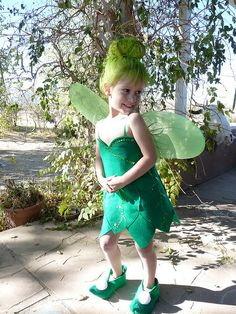 Hand-Made Tinker Bell Costume by Felt Fancy