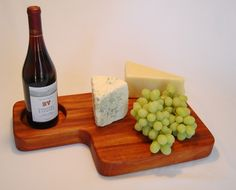 Beautiful wine and cheese board