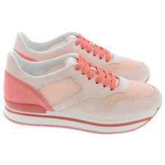 Pink Hogan Sneakers
