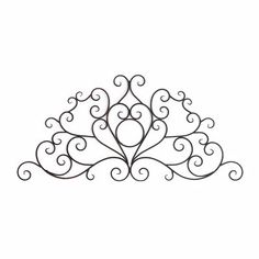 Monae Scrolled Wall Plaque | Kirkland's For over the fireplace