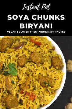 Lunch Recipes Indian, Healthy Indian Recipes, Tasty Vegetarian Recipes, Spicy Recipes, Curry Recipes, Arabic Recipes, Indian Snacks, Veg Biryani Recipe Indian, Vegetable Biryani Recipe
