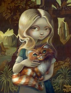 by Jasmine Becket-Griffith (Cheshire cat)