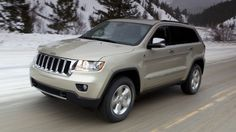 Jeep Grand Cherokee...fully loaded. Yes please :-)