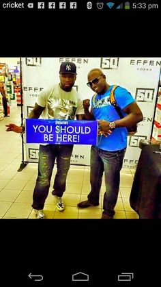 50 Cent no about our Blue Sign !!!