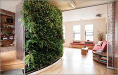 DIY living wall installation