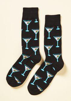 Eenie Martini Minie Moe Men's Socks, #ModCloth