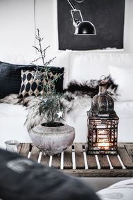 Minimalistic Christmas decor