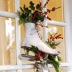 Deck the halls with these gorgeous winter wreaths that will bring holiday cheer to your Christmas decor. Christmas wreaths are often made with fir, but we share alternative wreath supplies that could inspire this year& front door decoration. Homemade Christmas Wreaths, Homemade Wreaths, Christmas Swags, Holiday Wreaths, Christmas Crafts, Christmas Decorations, Christmas Ideas, Winter Wreaths, Christmas Door