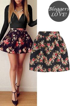 This Floral print skirt in a jacquard fabric and elasticated waistband is a great addition to your everyday wardrobe , easy for work and night out occasions Wholesale Fashion, Wholesale Clothing, Floral Print Skirt, Jacquard Fabric, My Outfit, Skater Skirt, Night Out, Your Style, Fashion Outfits