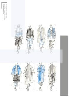Fashion Portfolio - fashion design drawings; fashion sketchbook // Lauren Emily Evans