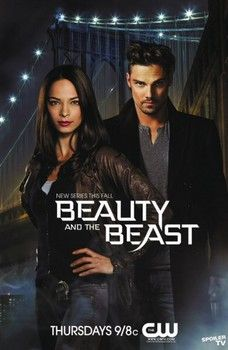 New poster for Beauty and the Beast from CW. Plus, photos of the cast promoting the series at Comic Con 2012.