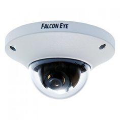 """Купольная уличная камера Falcon Eye FE-IPC-DW200P FE-IPC-DW200P Falcon Eye FE-IPC-DW200P - 2-мегапиксельная уличная сетевая видеокамера выполнена на CMOS матрице 1/2.8"""" SONY с разрешением 2,43 мегапикселя. На камере установлен 5-мегапиксельный объектив с фиксированным фокусным расстоянием 3,6 мм. Камера выполнена в металлическом корпусе и способна выдавать в сеть видео поток с разрешением 1920х1080Р.Технические характеристики:Единица измерения: 1 штГабариты (мм): 110x110x59Сенсор - 1/2.8""""…"""
