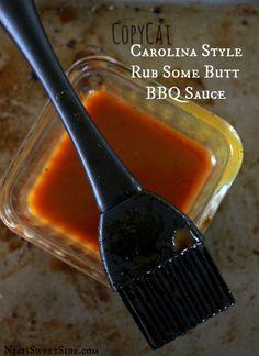 CopyCat Carolina Style Rub Some Butt BBQ Sauce