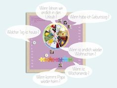 Bilder - Foto Magnetkalender flieder - ein Designerstück von flirrlicht bei DaWanda