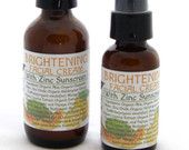 Brightening Facial Cream With Natural Zinc New 2oz Size