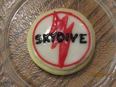 Skydiving Sugar Cookies