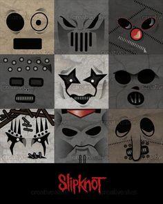 Slipknot´s  minimalist mask