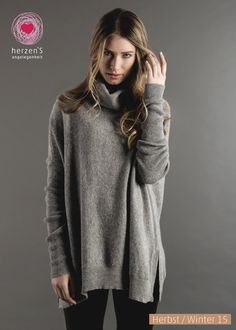6153-1004 Super soft pulli, warm and comfortable ready to wear with all your pants and skirts! #cashmere #pulloverlover #musthave