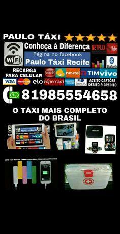 #PRECISA DE UM TÁXI COMPLETO  CHAME PAULO TÁXI⭐⭐⭐⭐⭐ PÁGINA NO FACEBOOK Paulo Táxi Recife Aceito todos os cartões de crédito e débito