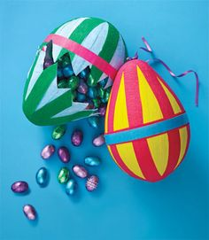 Easy Easter Paper Crafts via Woman's Day!
