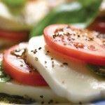 Mozzarella and Tomato Stacks