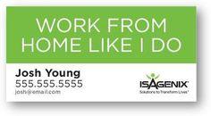 Isagenix business card design 4 pinterest isagenix 6g 404224 colourmoves