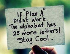 Geef niet meteen op als iets niet lukt, er zijn nog tal van andere mogelijkheden!