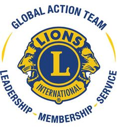 The Global Action Team was built with a vision that one day every need in the world will be served by a Lion or Leo. Lion Icon, Lions Clubs International, Lion Images, Lion Poster, Lion Logo, Regrow Hair, Badges, Team Logo, Leadership