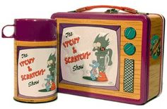 Itchy & Scratchy/Simpsons Lunchbox