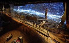 Viking boat @ National Museum of Denmark. ATELIER BRÜCKNER