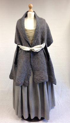 Geillis Duncan's Meeting Claire costume. | Costume Designer TERRY DRESBACH | Outlander S1E2 'Castle Leoch' on Starz