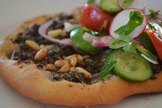 Ottolenghi Recipes, Yotam Ottolenghi, Otto Lenghi, Pizza Vans, Recipe Database, Tortilla Wraps, Almond Cakes, Vegetable Pizza, Good Food