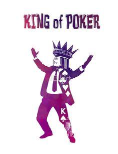 King of Poker purple