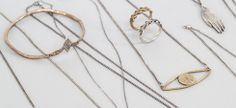Cool jewelry at Datter Industries by artist Kaye Blegvad