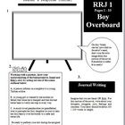 """Five printable and fully editable Reader's Response Journal sheets for the novel """"Boy Overboard"""" by Morris Gleitzman. ..."""