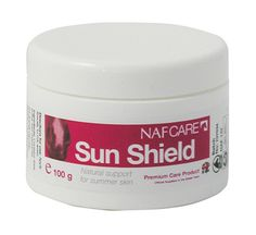 ***AVAILABLE IN-STORE & ONLINE*** #NAF #Sun Shield - Natural support for #summer skin   http://www.aivly.co.uk/product_104032.htm