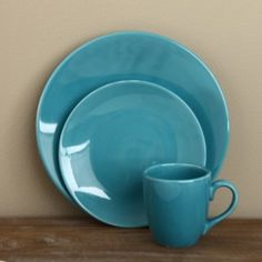 @Overstock - Hand-painted in vibrant aqua, this Rio dinnerware set from Omniware is the perfect additional to any table. This 12-piece dinnerware set can be mixed and matched with the stripes and solids of the Rio collection to create a unique, stylish table setting.http://www.overstock.com/Home-Garden/Omniware-Rio-Aqua-Ceramic-12-piece-Dinnerware-Set/6473533/product.html?CID=214117 $34.99