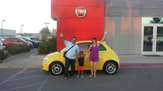 Congratulations Dawn on your new 500 POP from Greg and the Findlay Fiat Family! #FindlayFiat  http://www.fiatusaofhenderson.com/