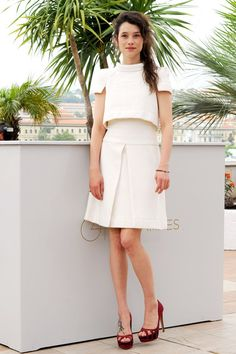 Astrid Berges Frisbey in - what else? - Chanel.