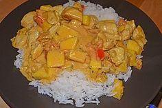 Hähnchen - Mango - Curry