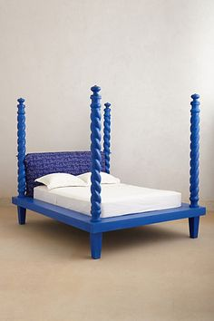 Cobalt Four Poster Bed